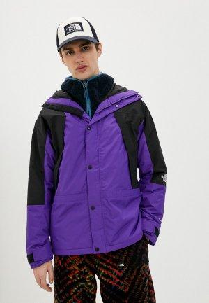Парка The North Face. Цвет: фиолетовый