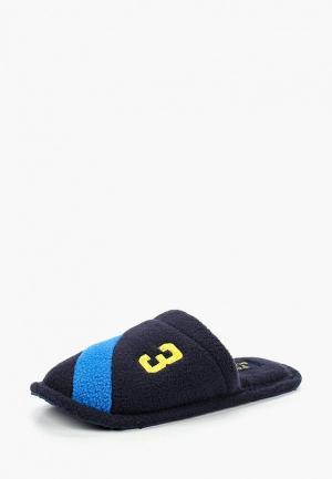Тапочки Polo Ralph Lauren. Цвет: синий