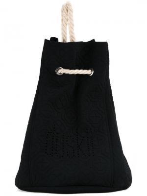 Пляжная сумка Ochre Duskii. Цвет: чёрный