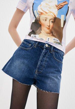 Шорты джинсовые 3x1. Цвет: синий