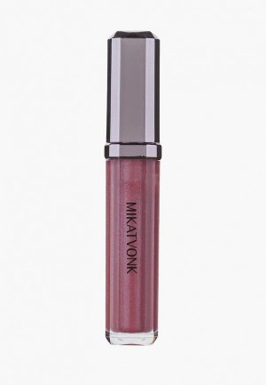 Блеск для губ Mikatvonk. Цвет: розовый