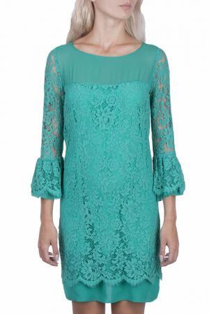 Платье DEXTERIOR D'EXTERIOR. Цвет: зеленый