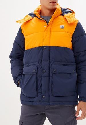 Куртка утепленная DC Shoes. Цвет: разноцветный