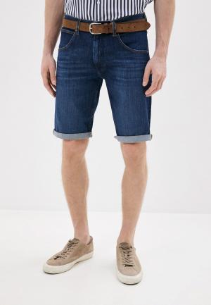 Шорты джинсовые Wrangler. Цвет: синий