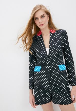 Пиджак Boutique Moschino. Цвет: черный