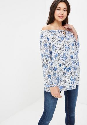 Блуза BuduMamoy. Цвет: голубой