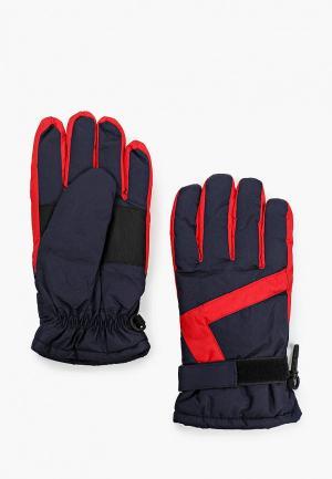Перчатки Koton. Цвет: синий