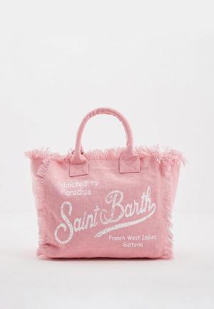 Сумка MC2 Saint Barth. Цвет: розовый