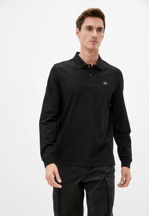Поло C.P. Company. Цвет: черный