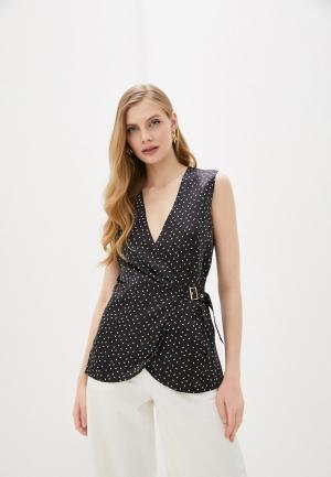 Блуза LAutre Chose L'Autre. Цвет: черный