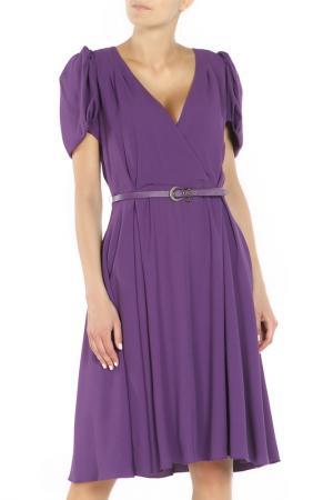 Платье Christian Dior. Цвет: фиолетовый