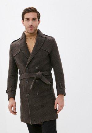 Пальто Paul Martins Martin's. Цвет: коричневый