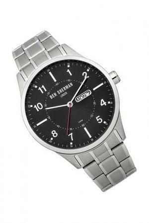 Наручные часы BEN SHERMAN. Цвет: черный