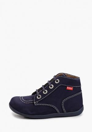 Ботинки Kickers. Цвет: синий