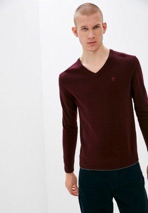 Пуловер Conte Of Florence. Цвет: бордовый