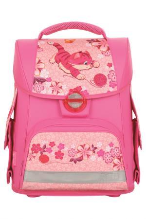 Ранец школьный TIGER ENTERPRISE. Цвет: розовый
