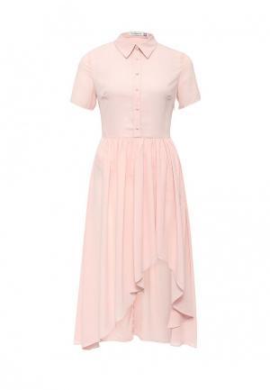 Платье La Coquette. Цвет: розовый