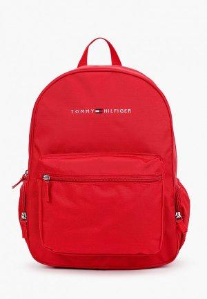 Рюкзак Tommy Hilfiger. Цвет: красный