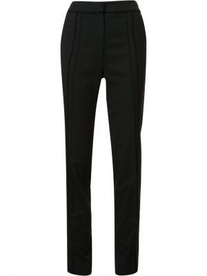 Строгие брюки с необработанными деталями Jason Wu. Цвет: чёрный