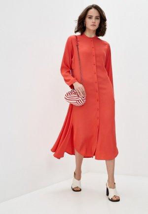 Платье Max&Co. Цвет: коралловый