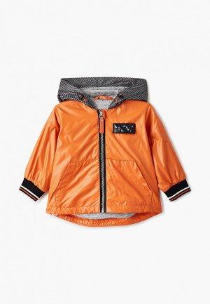 Ветровка Gulliver. Цвет: оранжевый