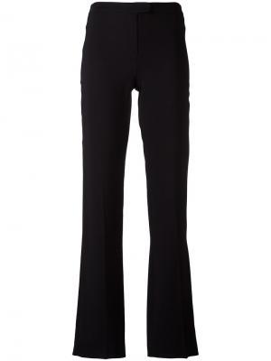 Расклешенные брюки Les Copains. Цвет: чёрный
