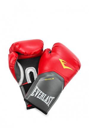 Перчатки боксерские Everlast. Цвет: красный