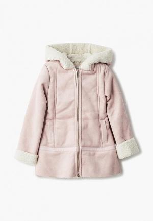 Пальто Blukids. Цвет: розовый
