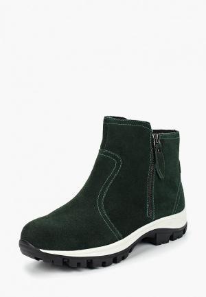 Кроссовки Francesco Donni. Цвет: зеленый