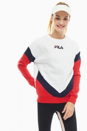 Свитшот FILA. Цвет: белый