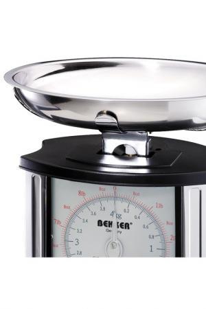 Кухонные весы 4 кг Bekker. Цвет: серебристый