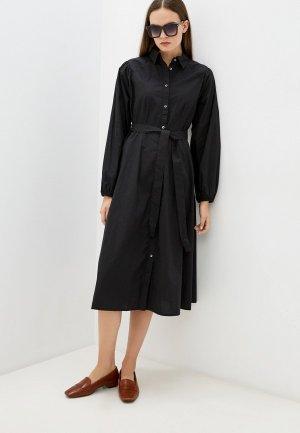 Платье b.young. Цвет: черный