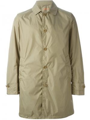 Куртка-дождевик Limone Aspesi. Цвет: зелёный