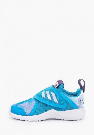 Кроссовки adidas. Цвет: бирюзовый