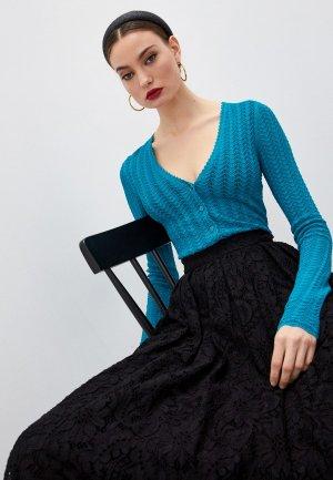 Кардиган Dolce&Gabbana. Цвет: бирюзовый