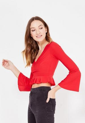 Блуза Edge Street. Цвет: красный