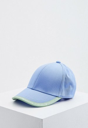 Бейсболка Emporio Armani. Цвет: голубой