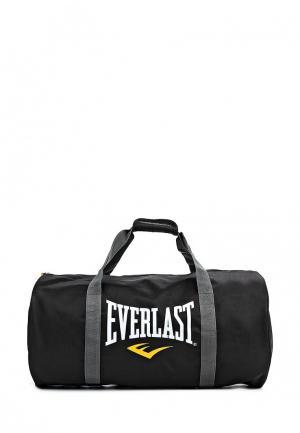 Сумка спортивная Everlast. Цвет: черный