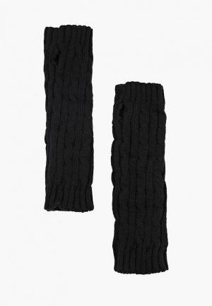 Митенки Modis. Цвет: черный