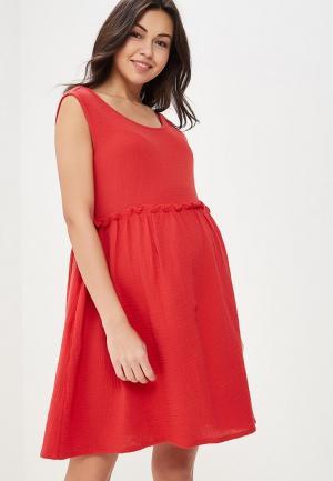 Платье BuduMamoy. Цвет: красный