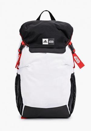 Рюкзак adidas. Цвет: белый