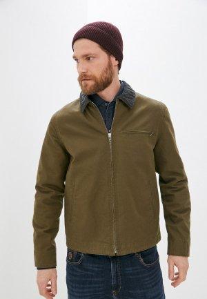 Куртка утепленная French Connection. Цвет: хаки