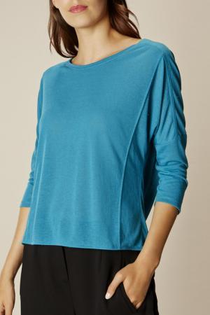 Блузка KAREN MILLEN. Цвет: синий