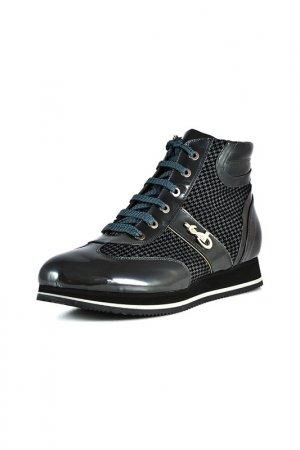 Ботинки LUIGI SGARIGLIA. Цвет: серый