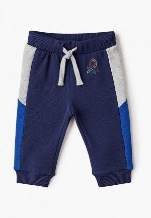 Брюки спортивные United Colors of Benetton. Цвет: синий