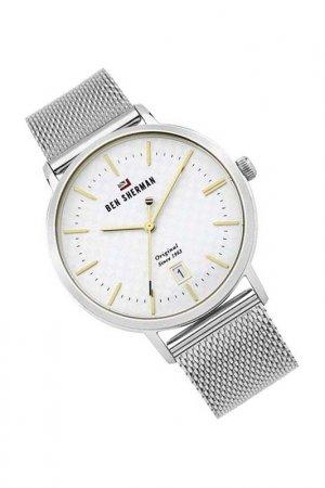 Наручные часы BEN SHERMAN. Цвет: белый