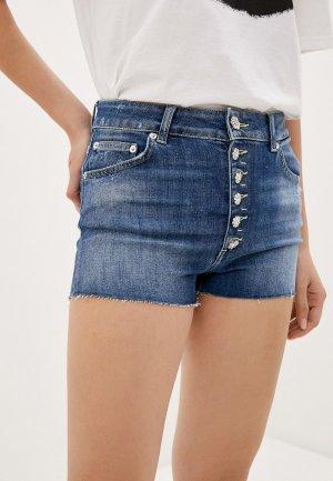 Шорты джинсовые Dondup. Цвет: синий