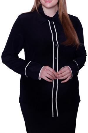 Блуза Liviana Conti. Цвет: черный