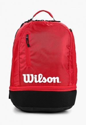 Рюкзак Wilson. Цвет: красный