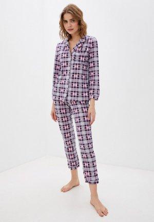 Пижама Rene Santi. Цвет: фиолетовый